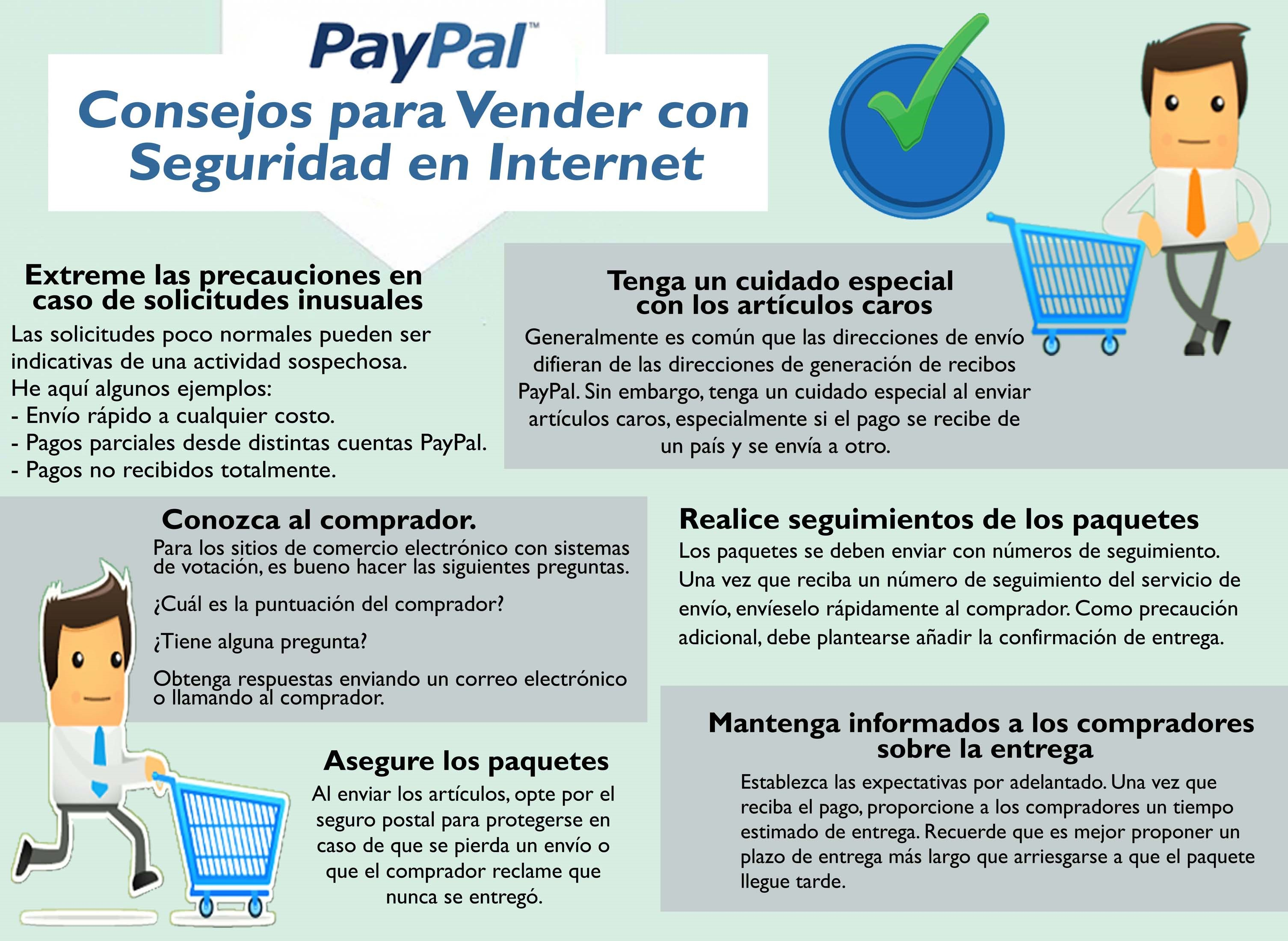 Pay Pal Vender seguridad